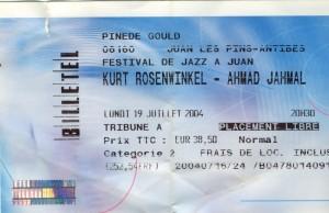 Ahmad Jamal juillet 2004