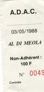 Al Di Meola mai 1988