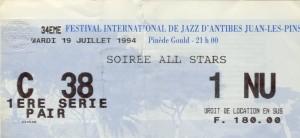 All stars juillet 1994