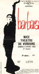 Barbara mars 1982