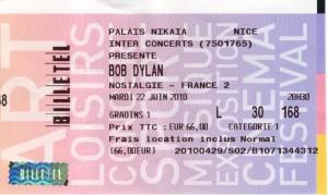 Bob Dylan 22 juin 2010