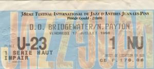 Bridgewater juillet 1998