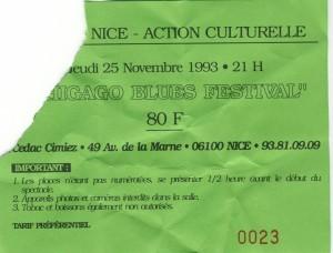 CBF novembre 1993