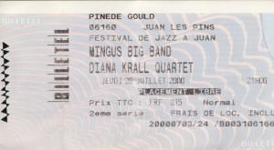 Diana Krall juillet 2000