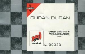 Duran Duran mai 1987