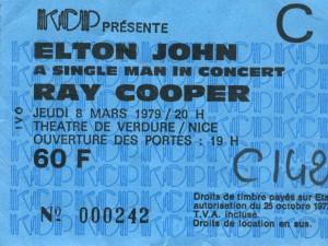 Elton John mars 1979