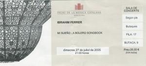 Ibrahim Ferrer juillet 2005