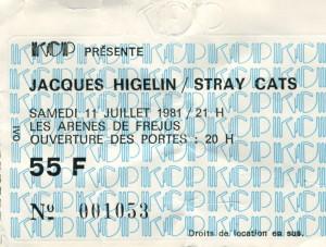 Jacques Higelin juillet 1981