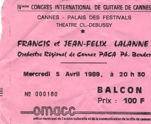 Jean-Felix Lalanne avril 1989
