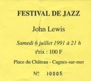 John Lewis juillet 1991