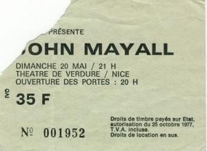 John Mayall mai xxxx