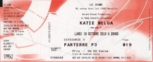 Katie Melua octobre 2010 Marseille