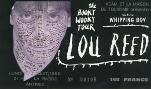 Lou Reed juillet 1996