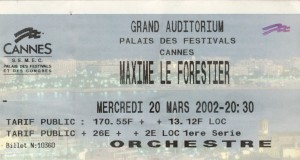 Maxime Le Forestier mars 2002
