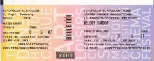 Melody Gardot 29 mars 2010 Nice