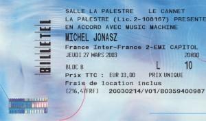 Michel Jonasz mars 2003
