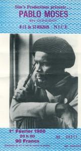 Pablo Moses fevrier 1988