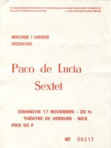 Paco De Lucia novembre xxxx