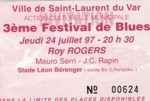 Roy Rogers juillet 1997