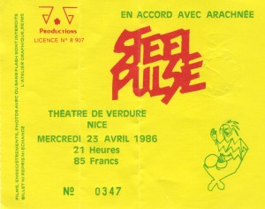 Steel Pulse avril 1986