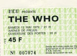 The Who mai 1979