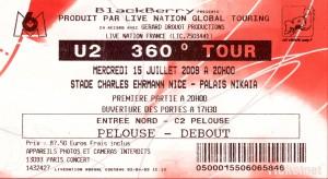 Concert de U2