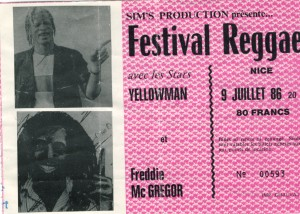 Yellowman juillet 1986