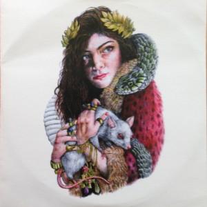 "Lorde ""Tennis Court"" promo"