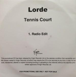 "CD Lorde Tennis court"" promo"