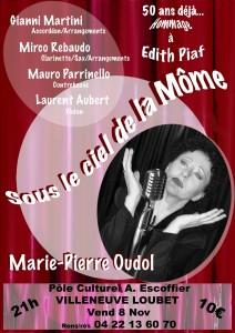 """Concert hommage à Piaf avec """"L'hymne à la Môme"""""""