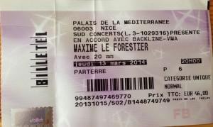 Concert Maxime Le Forestier