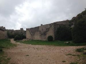 Le château de Peyrepertuse