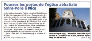 Eglise abbitiale de Saint Pons