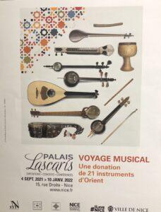 Exposiiton Voyage musical